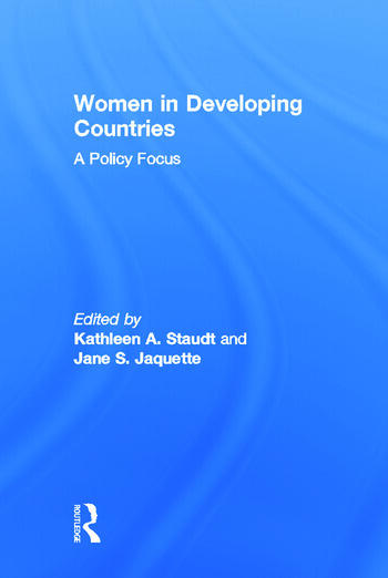 Women in Developing Countries A Policy Focus book cover