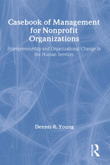 Casebook Management For Non-Profit Organizations: Enterpreneurship & Occup book cover