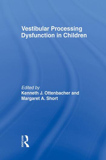Vestibular Processing Dysfunction in Children book cover