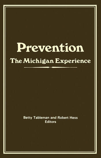 Prevention The Michigan Experience book cover