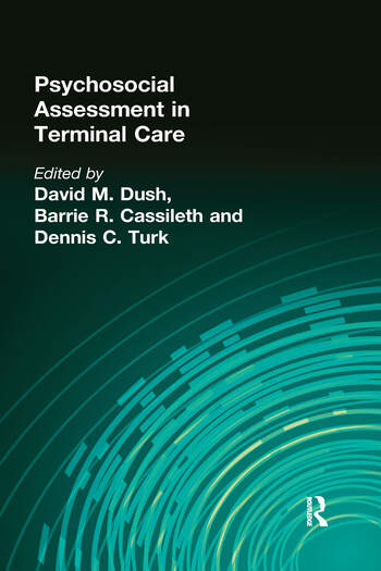 Psychosocial Assessment in Terminal Care book cover