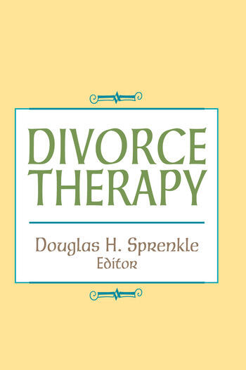 Divorce Therapy book cover