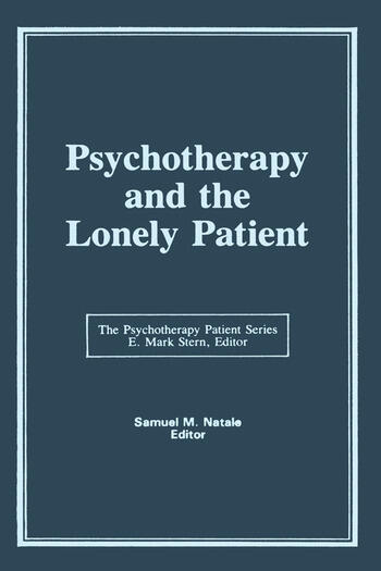 Psychotherapy and the Lonely Patient book cover