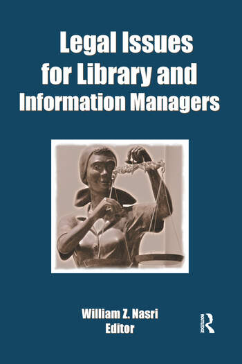 Legal Issues for Library and Information Managers book cover