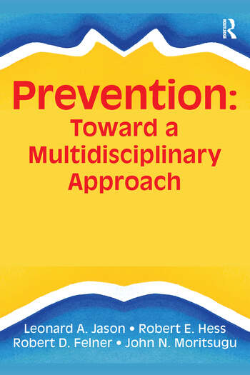 Prevention Toward a Multidisciplinary Approach book cover