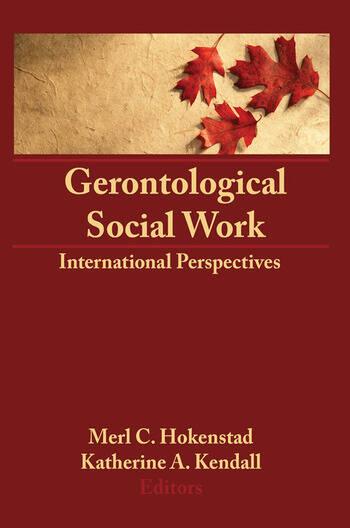 Gerontological Social Work International Perspectives book cover