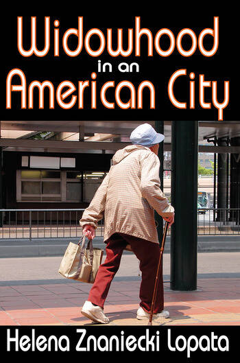 Widowhood in an American City book cover