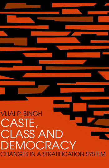 Caste, Class and Democracy book cover