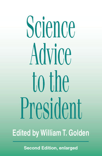 Science Advice to the President book cover
