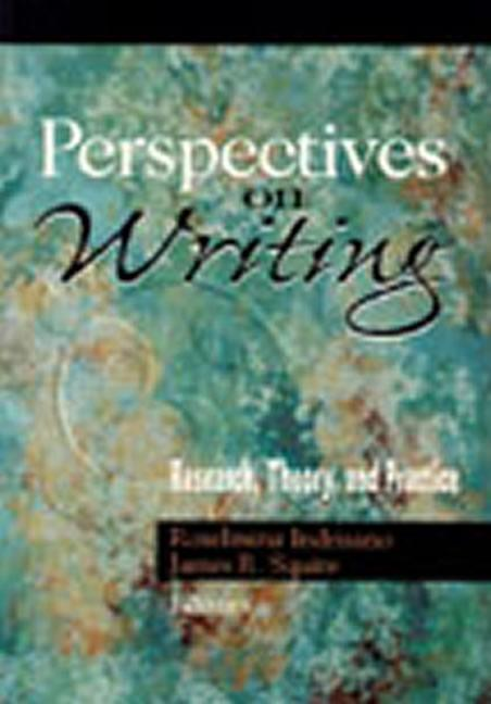 Perspectives on Writing Research, Theory, and Practice book cover