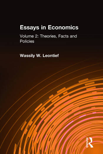 Essays in Economics: v. 2: Theories, Facts and Policies book cover