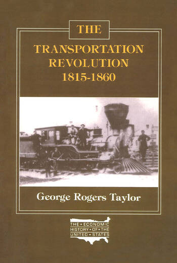The Transportation Revolution, 1815-60 book cover