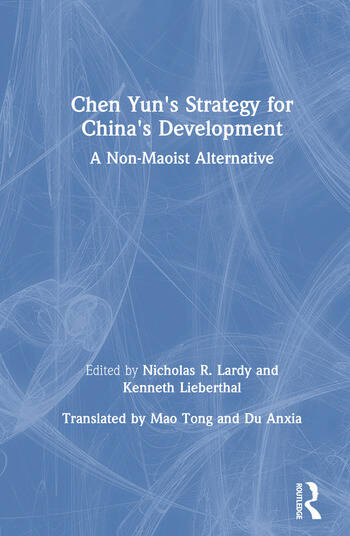 Chen Yun's Strategy for China's Development book cover