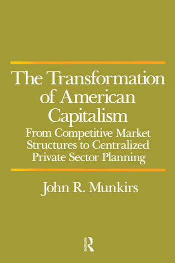 Transformation of American Capitalism book cover
