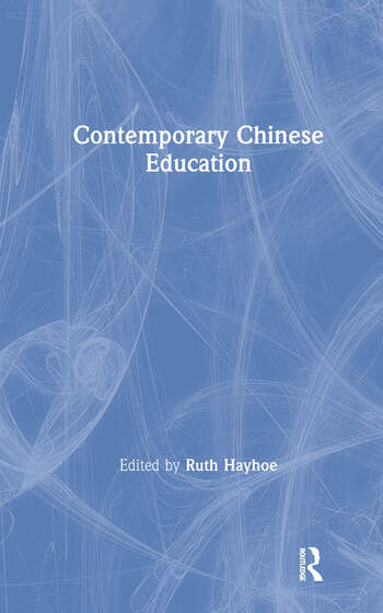 Contemporary Chinese Education book cover