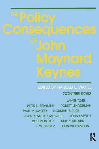 The Policy Consequences of John Maynard Keynes book cover