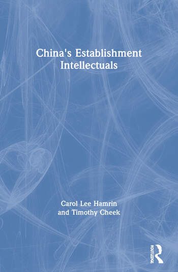 China's Establishment Intellectuals book cover