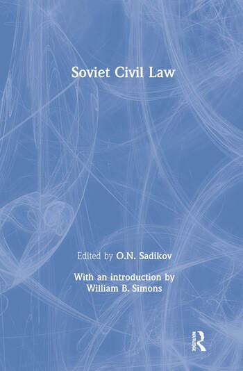 Soviet Civil Law book cover