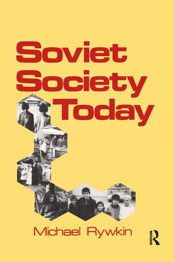 Soviet Society Today book cover