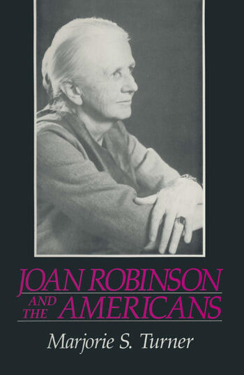 Joan Robinson and the Americans book cover
