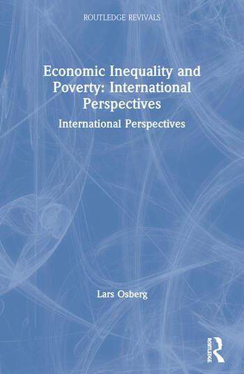 Economic Inequality and Poverty: International Perspectives International Perspectives book cover