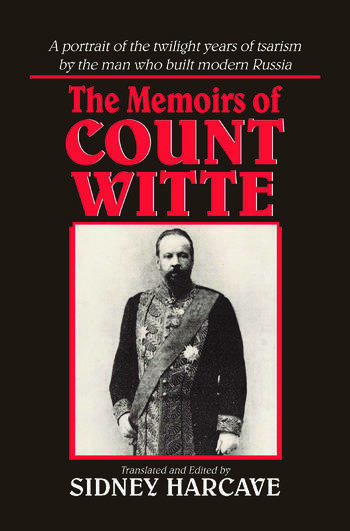 The Memoirs of Count Witte book cover