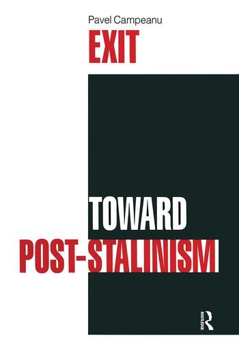 Exit Toward Post-Stalinism book cover