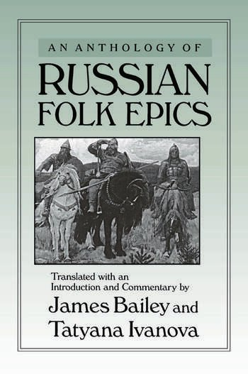 An Anthology of Russian Folk Epics book cover
