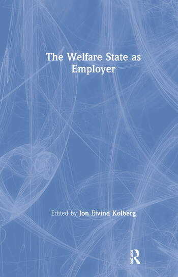 The Welfare State as Employer book cover