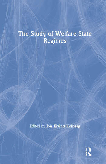 The Study of Welfare State Regimes book cover