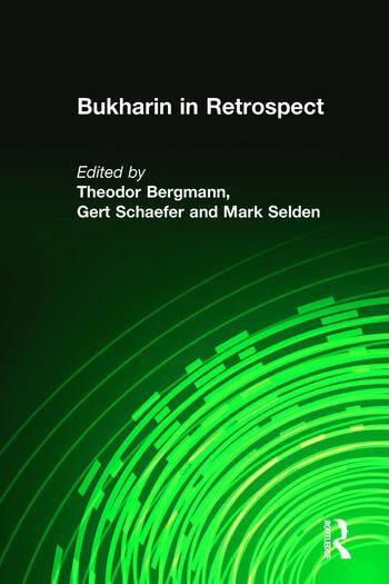 Bukharin in Retrospect book cover