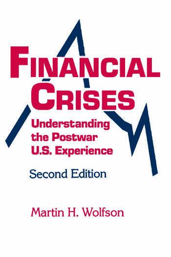 Financial Crises Understanding the Postwar U.S. Experience book cover