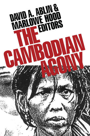 The Cambodian Agony book cover