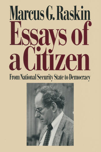 Essays of a Citizen: From National Security State to Democracy From National Security State to Democracy book cover
