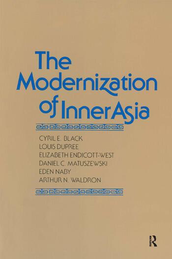 The Modernization of Inner Asia book cover