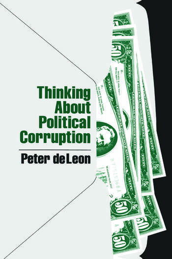 Thinking About Political Corruption book cover