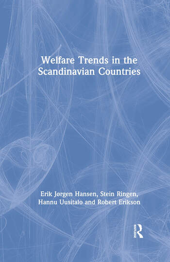 Welfare Trends in the Scandinavian Countries book cover