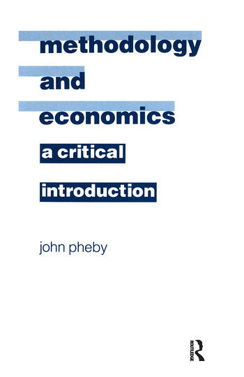 Methodology and Economics A Critical Introduction book cover