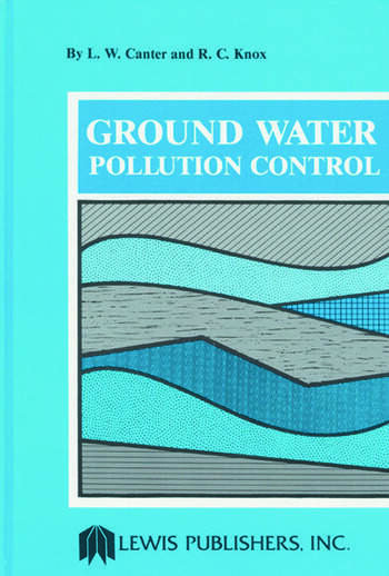 Ground Water Pollution Control book cover