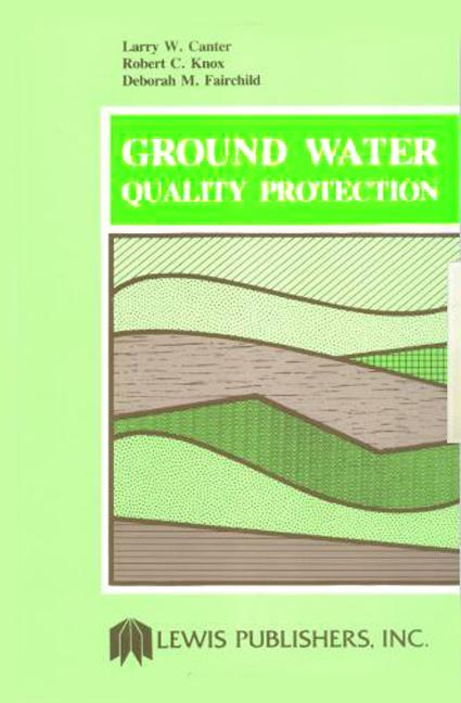 Ground Water Quality Protection book cover