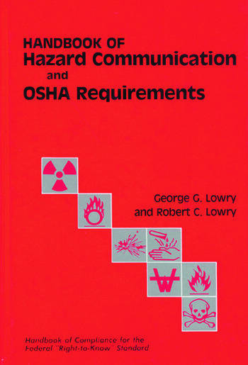 Handbook of Hazard Communication and OSHA Requirements book cover