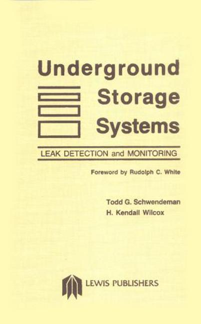 Underground Storage System book cover