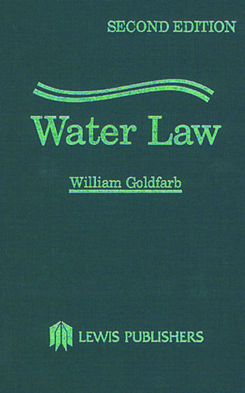 Water Law book cover