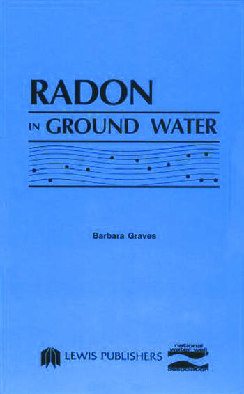 Radon in Ground Water book cover