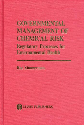 Governmental Management of Chemical Risk book cover