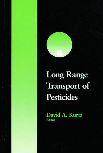 Long Range Transport of Pesticides book cover