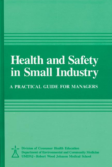 Health and Safety in Small Industry book cover