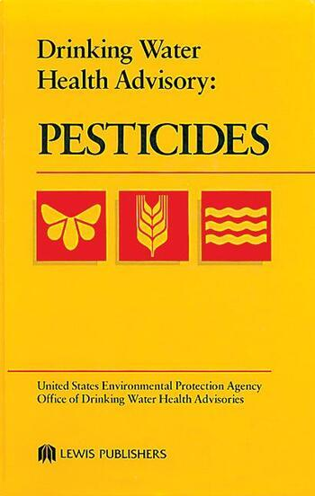 Drinking Water Health Advisory Pesticides book cover