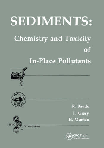Sediments Chemistry and Toxicity of In-Place Pollutants book cover