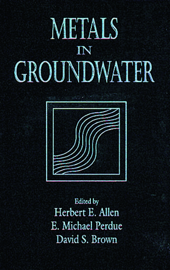 Metals in Groundwater book cover